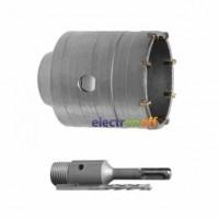 Комплект сверло корончатое по бетону SD-7026 Intertool 26 мм + Переходник SDS Plus 100 мм