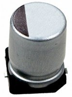 Конденсатор электролитический SMD 100uF 25V (D) 85°C (10шт)
