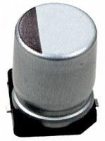 Конденсатор электролитический SMD 100uF 25V (F) 85°C (10шт)