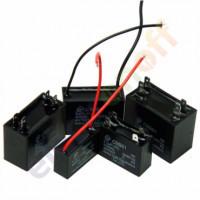 Конденсатор пусковой 10uF 450VAC CBB-61 58x28x43