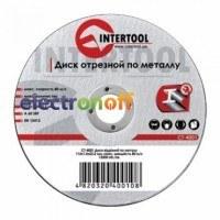 Круг отрезной по металлу 115 x 1.2 x 22.2мм CT-4002 Intertool