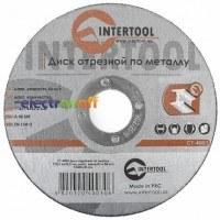 Круг отрезной по металлу 115 x 1.6 x 22.2 мм CT-4003 Intertool