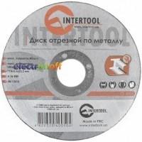 Круг отрезной по металлу 115 x 2.5 x 22.2 мм CT-4005 Intertool