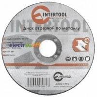 Круг отрезной по металлу 125 x 1.0 x 22.2 мм CT-4006 Intertool
