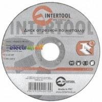Круг отрезной по металлу 125 x 1.2 x 22.2 мм CT-4007 Intertool