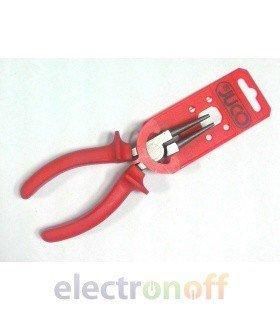 Круглогубцы электротехнические 1000В 160мм S6033
