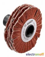 Ламельный валик Bosch 15мм, зернистость 80