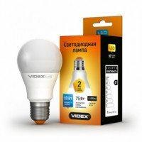 LED лампа VIDEX Е Series A60e 10W E27 4100K 220V