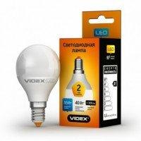 LED лампа VIDEX Е Series G45e 3.5W E14 3000K 220V