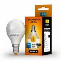 LED лампа VIDEX Е Series G45e 5W E14 3000K 220V