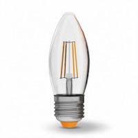 LED лампа VIDEX NeoClassic (Filament) C37F 4W E27 4100K 220V