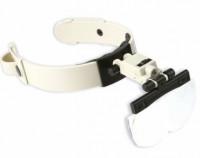 Лупа бинокулярная MG81002 налобная с LED подсветкой увеличение x1.2, x1.8, x2.5, x3.5
