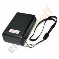 Лупа NO.9881 выдвижная с LED + UV подсветкой 30х диаметр 21 мм, 60х диаметр 12 мм