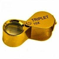 Лупа ювелирная MG21170С gold x10 диаметр 12 мм
