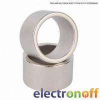 Магнит неодимовый D19 кольцо d9,5 h6,5мм (NdFeВ)