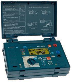 Мегаомметр MIC-5000 (измеритель сопротивления изоляции)