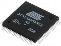 Микроконтроллер AT91SAM7X256C-AU, корпус LQFP-100