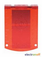 Мишень лазерная Bosch красная Professional