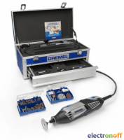 Многофункциональный инструмент Dremel 4000 - 6/128 (Алюминиевый кейс)
