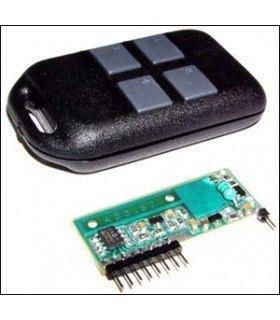 Модуль 4-х канального ДУ 433 МГц MK317