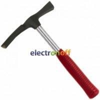 Молоток каменщика 600 г металлическая ручка HT-0225 Intertool