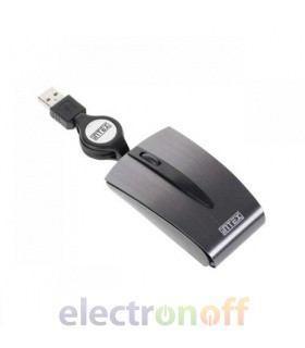 Мышка оптическая минималистичная USB Stylo INTEX
