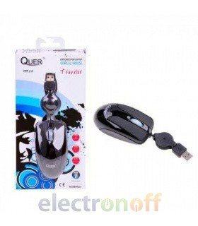 Мышка оптическая USB Traveller QUER
