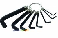 Набор Г-образных шестигранных ключей 10 шт 1.5-10 мм HT-1842 Intertool