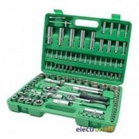 Набор инструментов ET-6108SP Intertool 1/2 и 1/4 дюйма 108 единиц