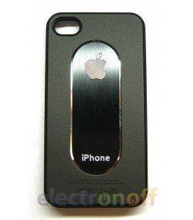Накладка NewCase black iPhone 4 пластик