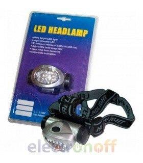 Налобный фонарь 8 LED KEMOT