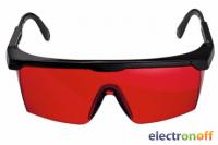 Очки лазерные Bosch красные Professional