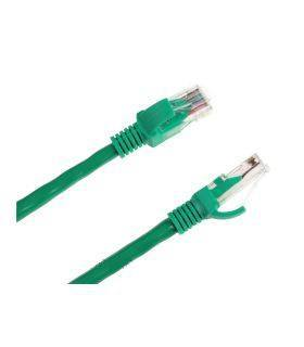 Patchcord кабель UTP kat. 6e штек.-штек. 15m зеленый INTEX