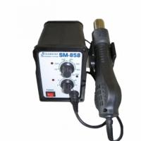 Паяльная станция конвекционная SM-858 с паяльником в держателе