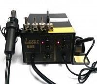 Паяльная станция Lukey 852 с паяльником и феном