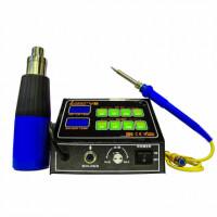 Паяльная станция LUKEY V6 с термофеном и паяльником