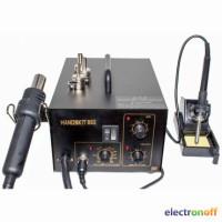 Паяльная станция HandsKit 852 (паяльник+компрессорный фен, уценен)