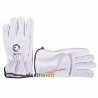 Перчатка замшевая 10 дюймов SP-0155W Intertool