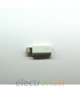 Переходник microUSB - iPhone 5