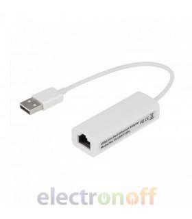 Переходник с USB на вход Ethernet (для планшета)