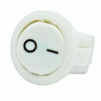 Переключатель on-off, белый, 2pin (KCD5-101-2)