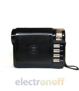 Портативная колонка KN-183URT (MP3, FM, фонарь)