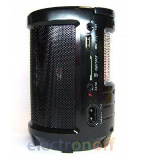 Портативная колонка MD-603U (MP3, FM, фонарь)