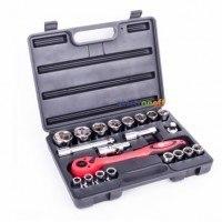 Профессиональный набор инструмента Cr-V ET-6021 Intertool 21 ед 1/2 дюйма