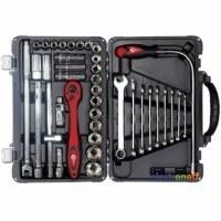 Профессиональный набор инструмента Cr-V ET-7039 Intertool 39 единиц 1/2 дюйма