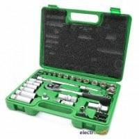 Профессиональный набор инструмента 39 ед 3/8 дюйма Cr-V ET-6039 Intertool