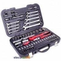 Профессиональный набор инструментов ET-6082 Intertool 1/2 и 1/4 дюйма 82 единиц