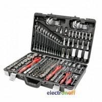 Профессиональный набор инструментов 1/4, 3/8 и 1/2 дюйма 176 единиц ET-7176 Intertool