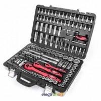 Профессиональный набор инструментов ET-7151 Intertool 1/4 и 1/2 дюйма 151 единиц