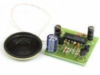 Радиоконструктор K125 (звуковая сирена 0.5W)